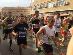 Running Puerto de Sagunto